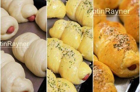 Resep Roti Sosis Sapi Sausage Hotdog Bun Delicious Oleh Tintin Rayner Resep Resep Makanan Sosis Makanan