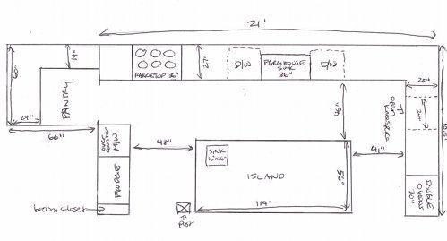 My Dream Kitchen Part 2 Chinese Grandma Dream Kitchen Layout Dream Kitchen Kitchen Floor Plans