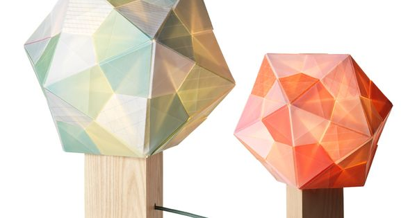 Geometry lamps lights candles pinterest for Polygon produktdesign