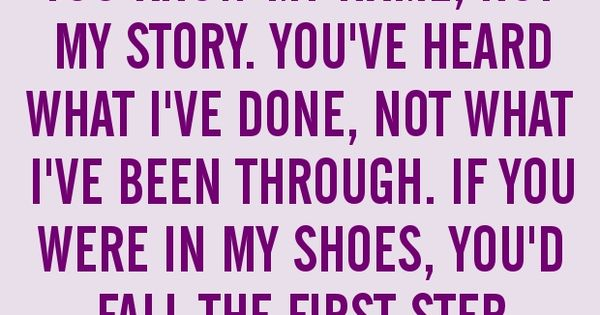 Walk A Mile In My Shoes Quotes At Repinnednet