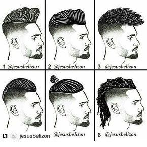 Peinados Masculinos Mens Facial Hair Styles Mens Hairstyles Gents Hair Style