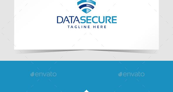 Data Secure Logo Template – Symbols Logo Templates