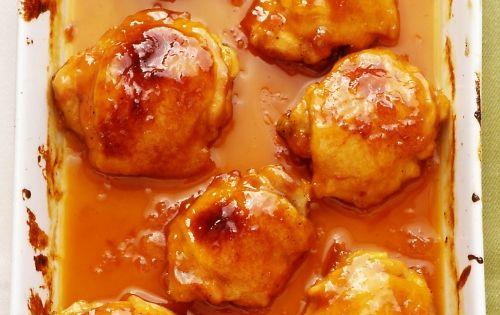 Apricot Dijon Chicken Thighs