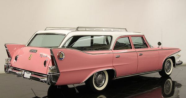Now this is a road trip vehicle..... 1960 Plymouth wagon