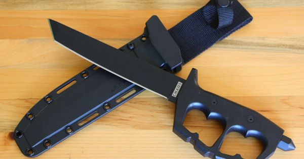 Cold Steel Chaos Tanto Fixed Blade Trench Knife, 80NT. The ...