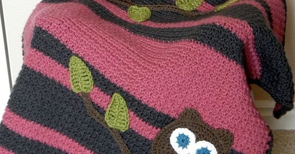 owl baby blanket crochet ideas pinterest owl baby
