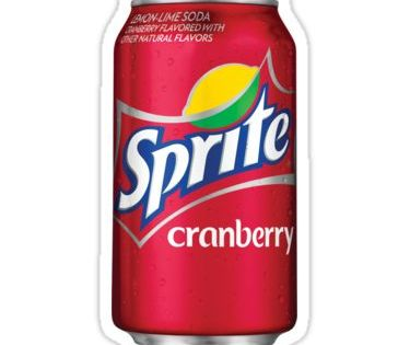 Sprite Cranberry Can Sticker By Eggowaffles In 2021 Sprite Drink Stickers Cranberry