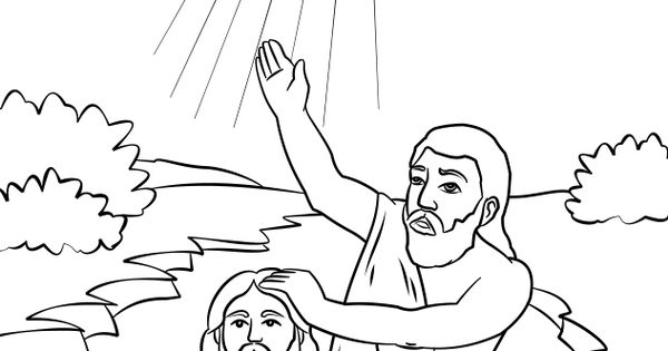 John the Baptist coloring page John the Baptist