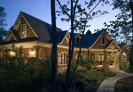 Plan 15626ge Stunning Rustic Craftsman Home Plan Craftsman House Plans Craftsman House Craftsman Style House Plans