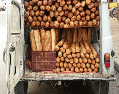 Baguette car - Hey Kristina, I think we should try to steal