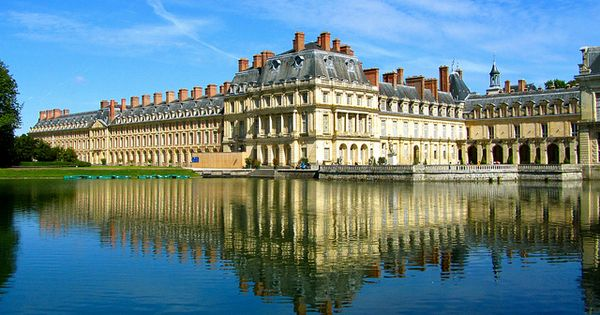 The Chateau De Fontainebleau One Of The Most Famous