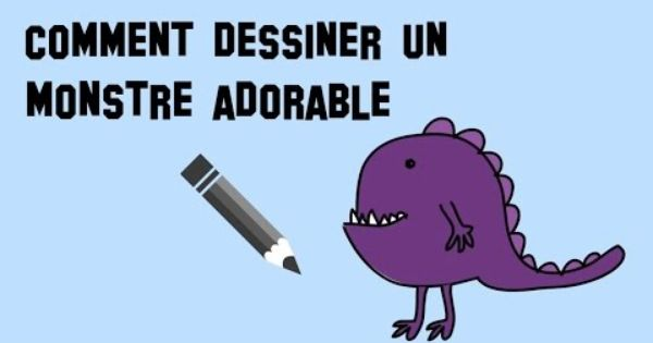 Comment dessiner un monstre adorable youtube dessin - Comment dessiner un cerf ...
