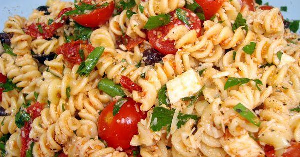 Tomato Feta Pasta Salad Ina Garten Side Dishes