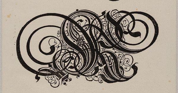 Alphabet Zierbuchstaben R S T Schreibarten Schreibkunst Typografie Alphabet