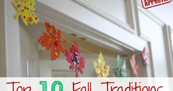 The grandkids would love decorating these felt leaves to decorate for Thanksgiving.