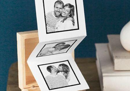 cadeau f te des m res faire soi m me un mini album photos 20 id es cadeaux de f te des. Black Bedroom Furniture Sets. Home Design Ideas