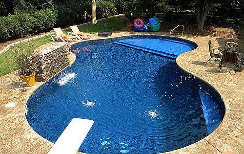Small Backyards With Inground Pools Pools Feng Shui Tips