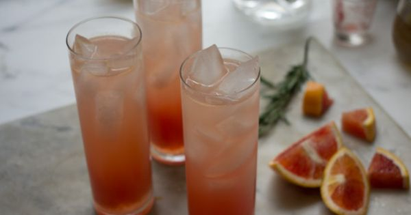 Blood Orange Gin Sparkler drink beverage party
