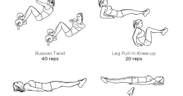 Six Pack Abs Workout Routine: custom printable workout by @WorkoutLabs workoutlabs customworkout
