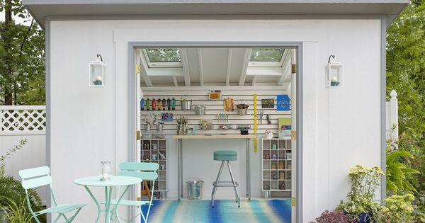 Creativo, patios traseros and taller on pinterest
