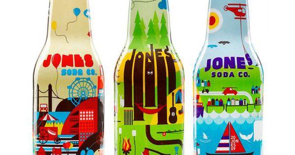 jones jumble soda packagin pinterest bouteille et packaging. Black Bedroom Furniture Sets. Home Design Ideas