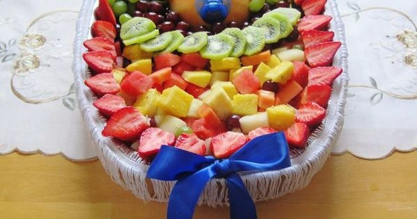 Fruit Trays For Baby Shower Fruit Tray I Made For Bailey