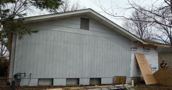 Before Picture Of Old Masonite Siding Masonite Siding
