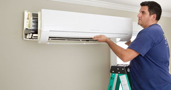 How To Install A Mini Split Ac Heat Pump Attic Renovation Window Unit Heating And Air Conditioning