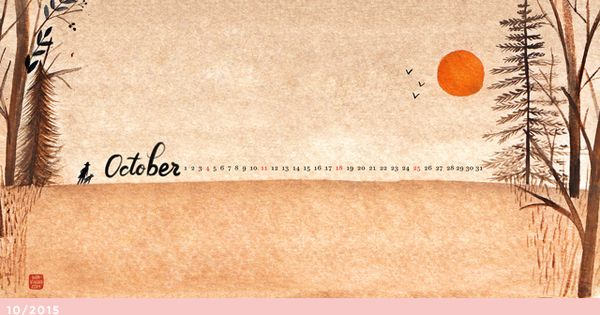 October, Desktop wallpapers and Wallpapers on Pinterest