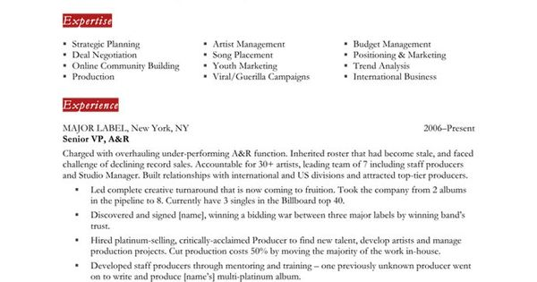 music industry executive