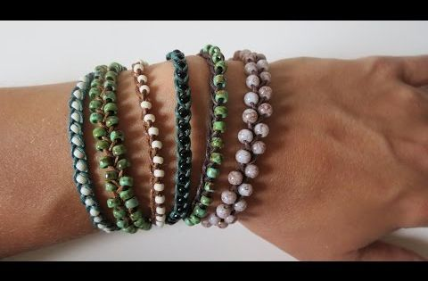 diy perlenarmband einfach flechten super leicht youtube diy schmuck pinterest armband. Black Bedroom Furniture Sets. Home Design Ideas