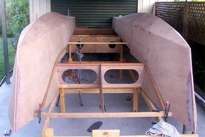 How Build Catamaran Build Your Own Boat Boat Building Boat Plans