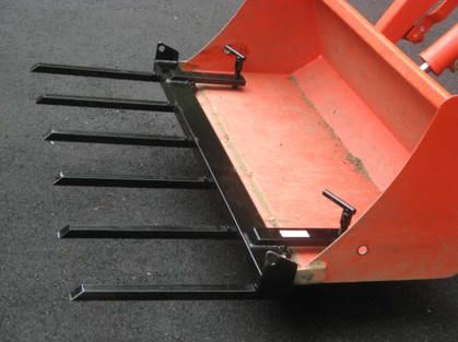 Brush Fork For Ground Works Tractor Accessories Tractor Attachments Yard Tractors