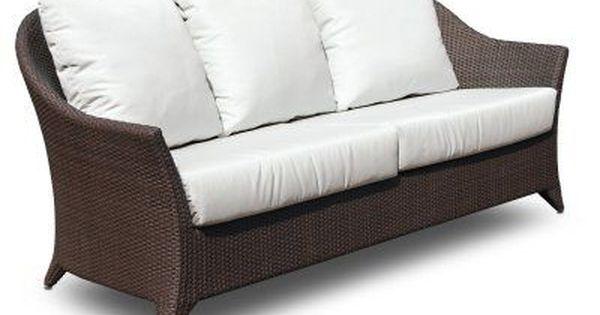 Outdoor Hospitality Rattan Kenya Sofa With Cushion 62023 Jcpp