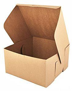 10x10 Cake Boxes Southern Champion Tray 0977k Kraft Paperboard Non Window Lock Corner Bakery Box 10 Length X 10 Width X 5 Bakery Box Corner Bakery Box Cake