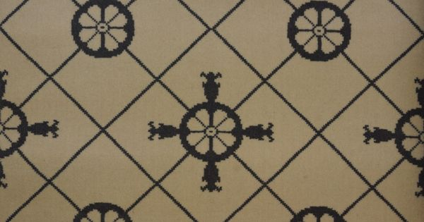 carrelage avec ancre motif madeleine castaing collection de moquettes haut de gamme tiss es 100. Black Bedroom Furniture Sets. Home Design Ideas
