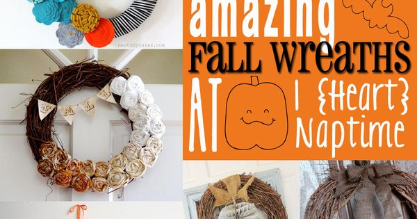 50 Amazing Fall Wreath ideas