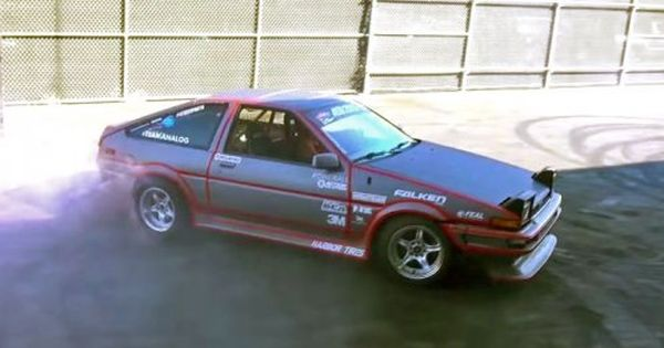 Electric Swapped Toyota Ae86 Drift Car Has A Manual Gearbox With