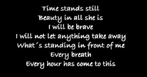 lyrics to the song a thousand years by christina perri