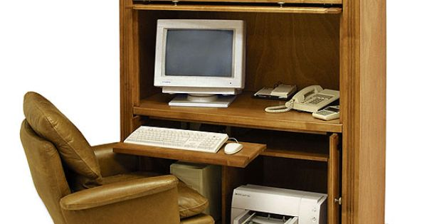 Home Office Furniture Computer Armoires Office Furniture