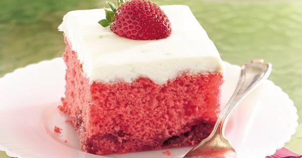 Strawberry Daiquiri Cake. dessert recipes