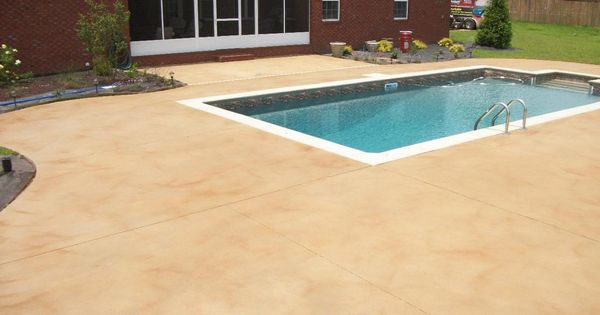 Waterproof Cement For Pools : Best colors for a cement pool deck google search