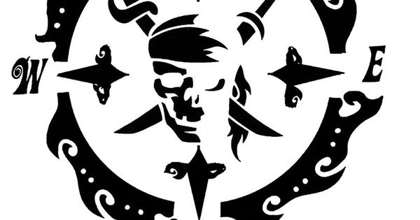 Salty Souls Pirate Skull Amp Compass Logo Sticker Decal Salt