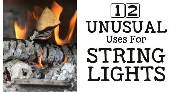 12 Unusual Ways to Use String Lights Gardens, What s the and Home and garden