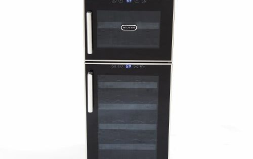Best Wine Rack Whynter Wc212bd 21bottle Dual Temperature Zone Touch Control Freestanding Wine Cooler Click Im Wine Refrigerator Wine Cooler Wine Varietals