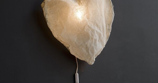 DIY Inspiration Heart Light - these would be cute little night lights.