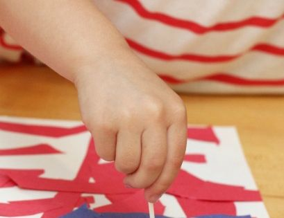 flag day art projects for toddlers