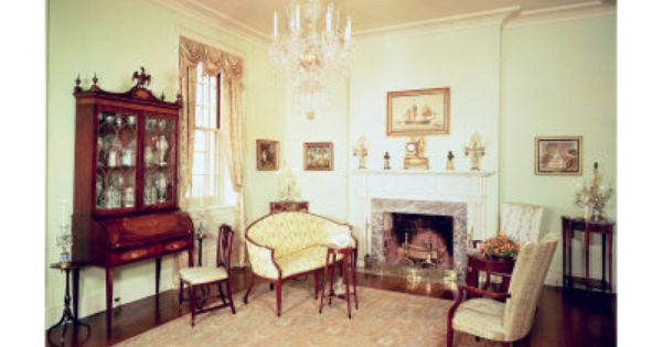 Federal style furniture is timeless elegant and classic - Federal style interior decorating ...