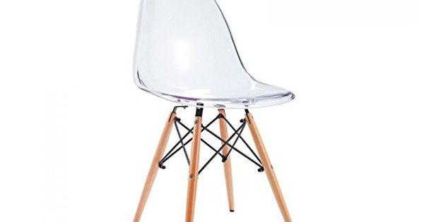 Chaise Transparent Estiltenda Collection Https Www Amazon Fr Dp B00tvrdss4 Ref Cm Sw R Pi Dp X I7zjzb36x5k8g Eames Chair Chaise Chair