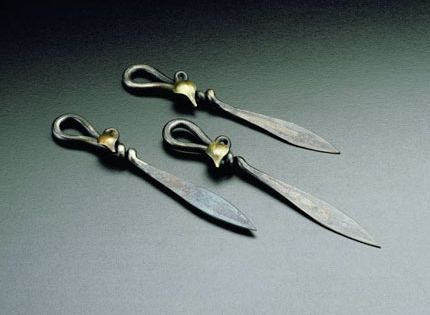 letter openers by jeff fetty blacksmith